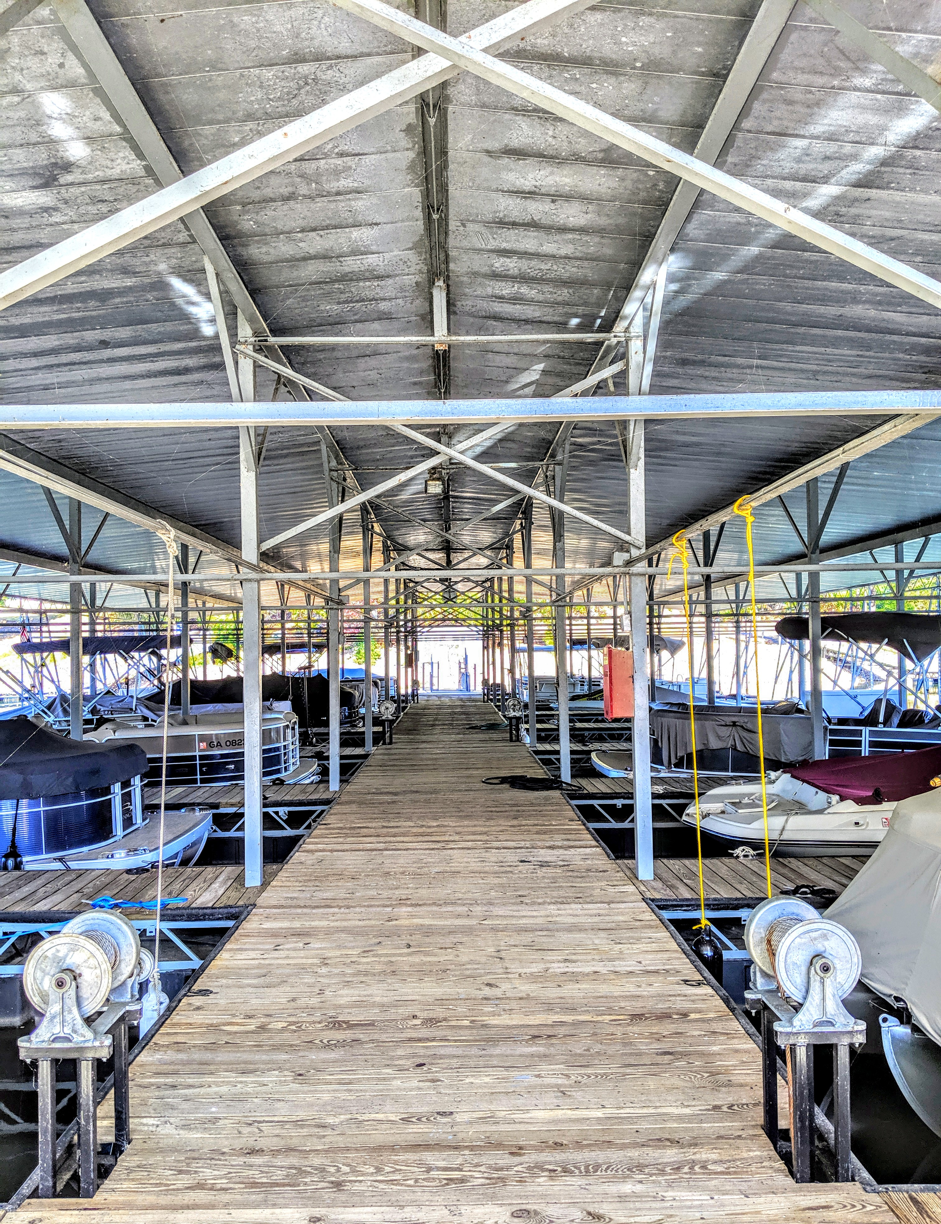Dry Boat Trailer Storage Buford Boat Dock Gainesville